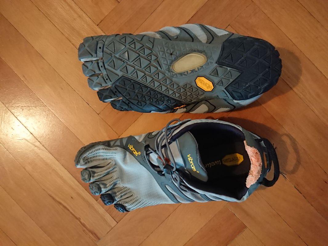 Barefoot boty Five Fingers V-TRAIL 1.0 (vel. EU 45)