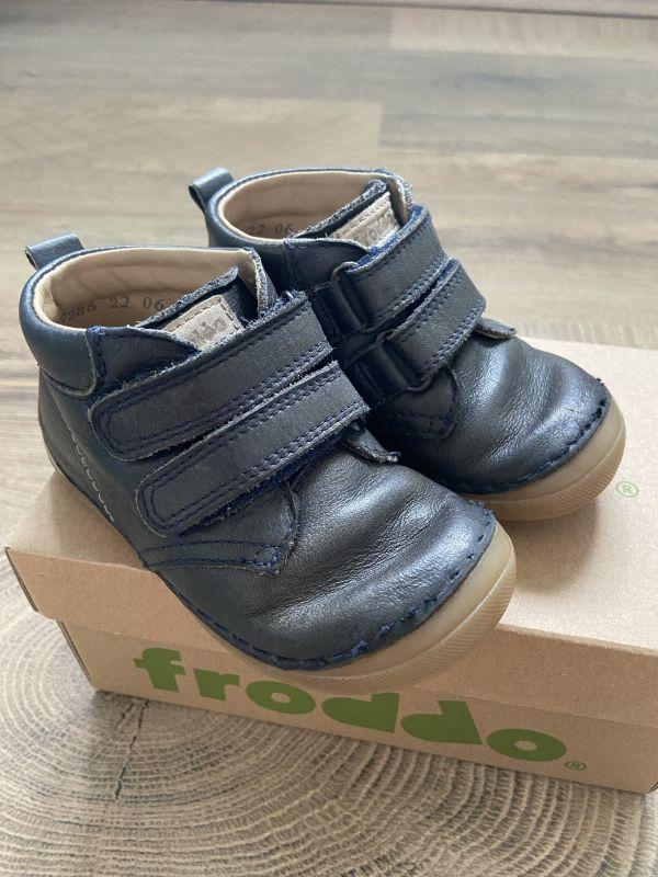 Dětské boty Froddo flexible vyšší vel. 22