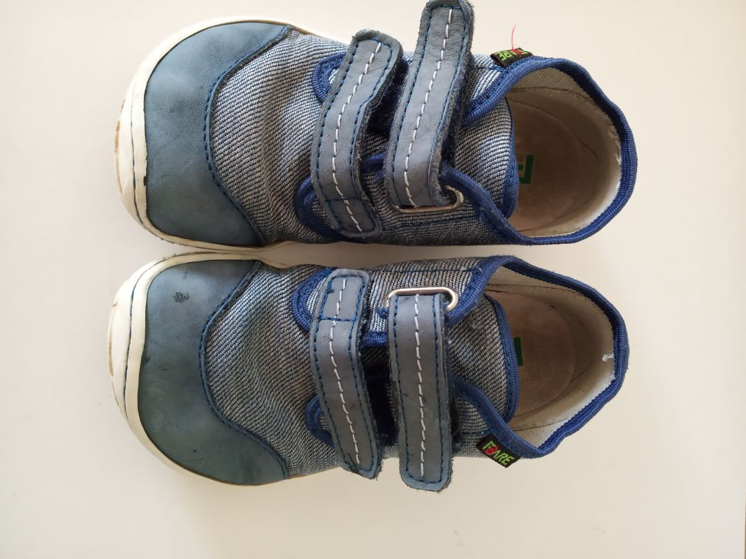 Fare - modré botasky vel. 25