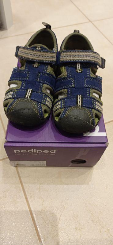 Sandály Pediped Sahara Blue