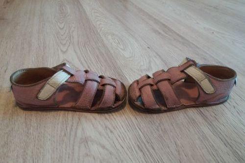 Baby bare Sandálky dívčí Candy,č. 22, barefoot
