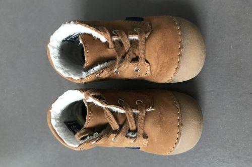 Dětské zimní boty Richter pro první krůčky, vel.19, délka stélky 13cm