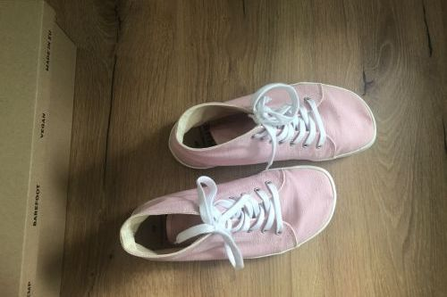 Konopné barefoot tenisky vel. 40 (26,1 x 9,3 cm)