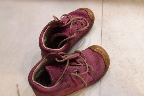 Kožené celoroční boty Pepino Ricosta Cory,  vel. 21