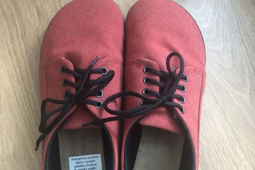 Nové boty Ahinsa vel. 41 (26,5 x 10 cm)