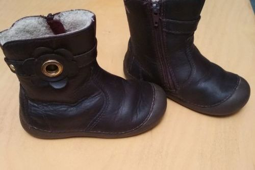 Zimní dětské boty D.D. step vel. 23